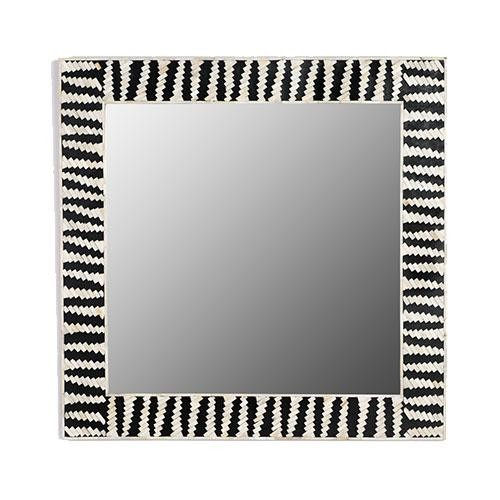 Handmade Bone Inlay Mirror Frame