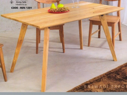 Dining Table Made of Mango Wood