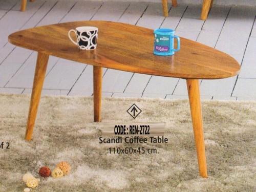 3 Legs Coffee Table Made of Acacia Wood