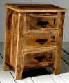 Reclamed Wood Chest Of Drawer
