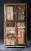 Wooden 5 Drawer 3 door Almirah