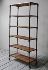 Reclaimed Wood Rack Book Shelves